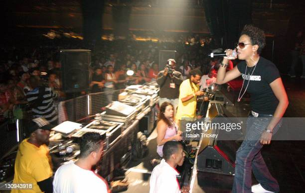 MC Lyte during 7 Year Anniversary Celebration of the Hip Hop Concert Amnesia at Kool Haus in Toronto Ontario Canada