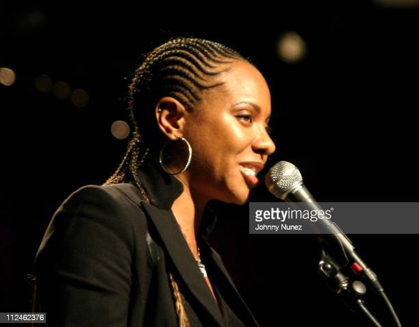 MC Lyte during The 3rd Annual H2O Film Festival Odyssey Awards at Peter Jay Sharpe Theater in New York City New York United States
