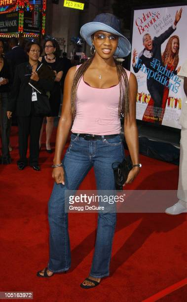 MC Lyte during 'The Fighting Temptations' Premiere at Mann's Chinese Theatre in Hollywood California United States
