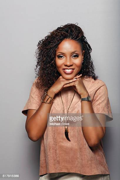 MC Lyte is photographed at the 2016 Black Women in Hollywood Luncheon for Essencecom on February 25 2016 in Los Angeles California