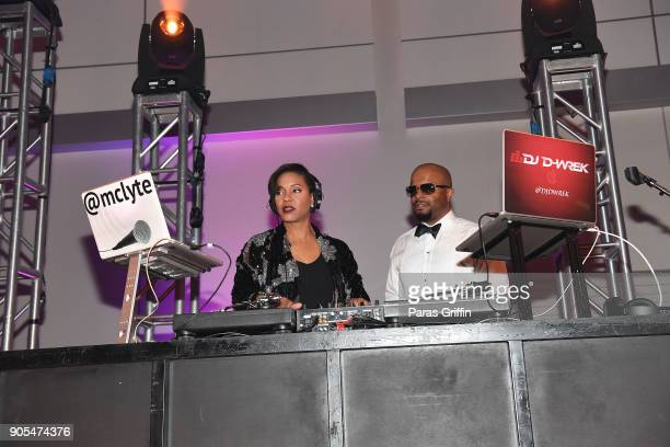 Lyte performs onstage at 49th NAACP Image Awards After Party at Pasadena Civic Auditorium on January 15 2018 in Pasadena California