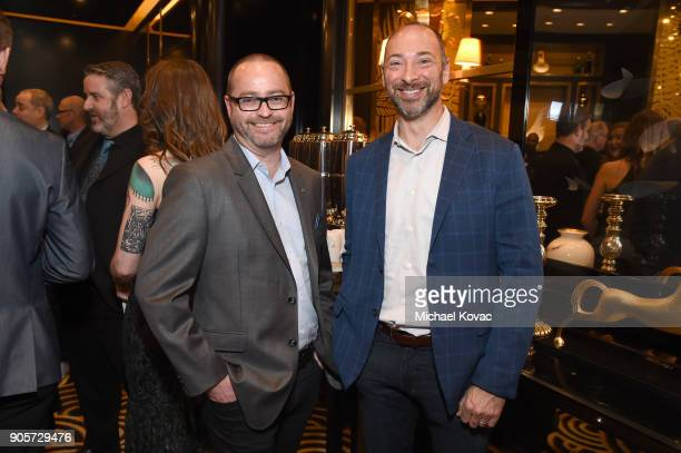 Lytro EVP of Product Development Tim Milliron and Lytro President and CEO Jason Rosenthal attend the Advanced Imaging Society 2018 Lumiere Technology...