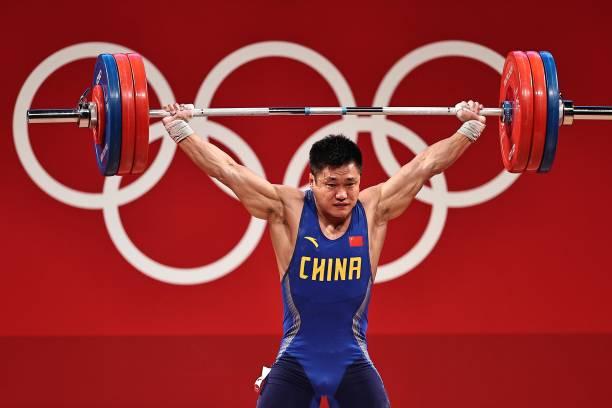 JPN: Weightlifting - Tokyo 2020 Olympics - Day 8