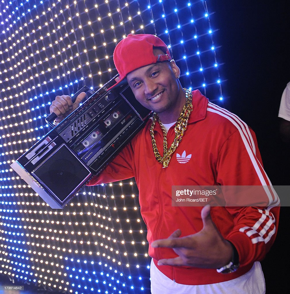 DJ Lyve at BET's 106 & Park at BET Studios on July 15, 2013 in New York City.