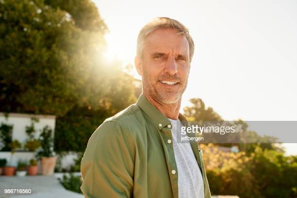 i'm a man on a mission - handsome older men stock pictures, royalty-free photos & images