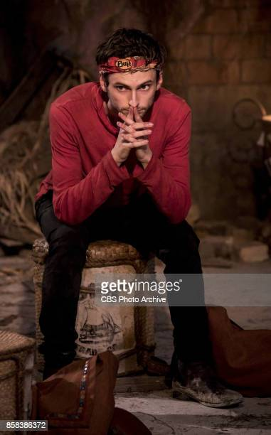 'I'm a Wild Banshee' Ryan Ulrich at Tribal Council on the second episode of SURVIVOR 35 themed Heroes vs Healers vs Hustlers airing Wednesday October...