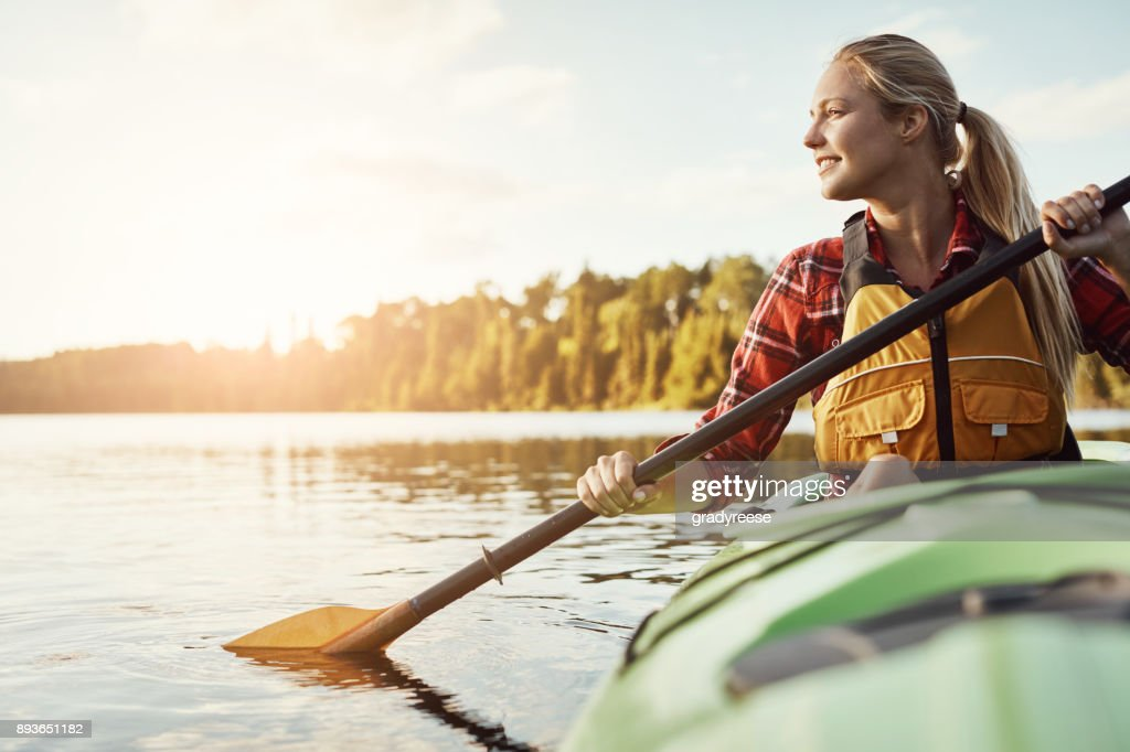 I'm always in if there's water involved : Stock Photo