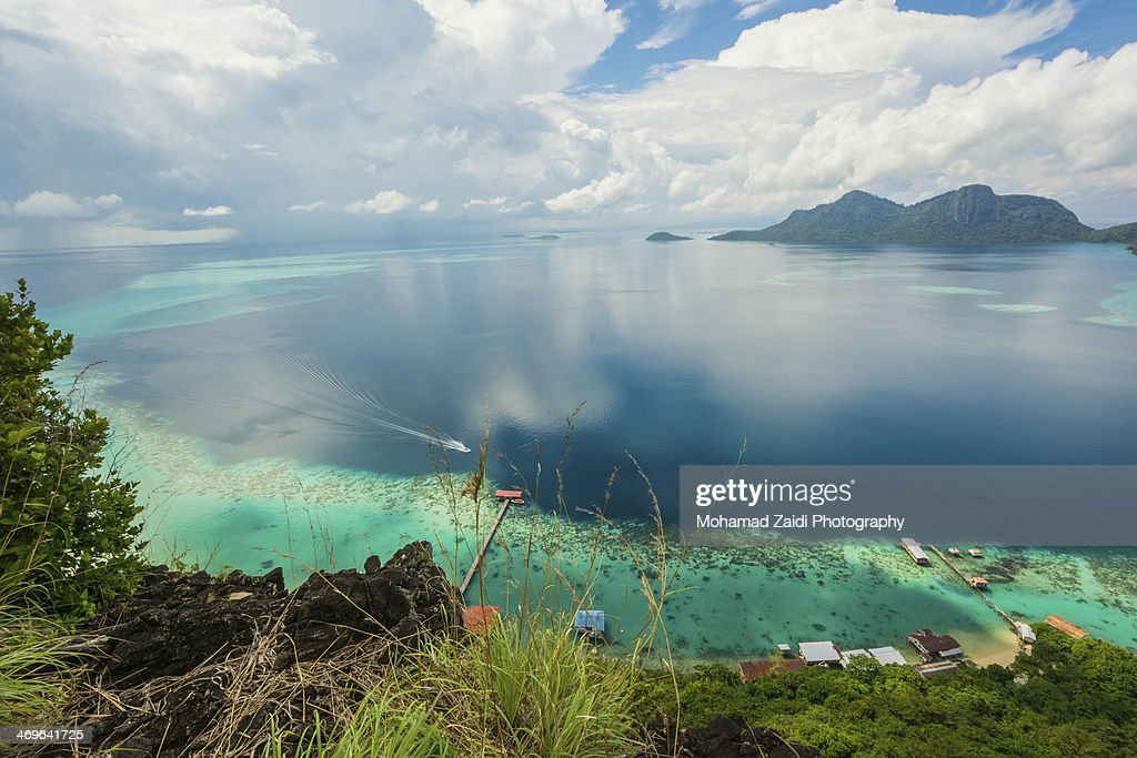 I'm Coming Home | Boheydulang Island, SABAH : Stock Photo