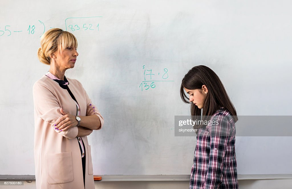 I'm disappointed you don't know the answer! : Stock Photo