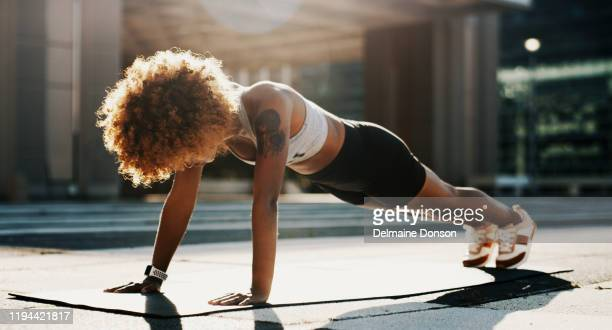 i'm doing all for a better me - push ups stock pictures, royalty-free photos & images