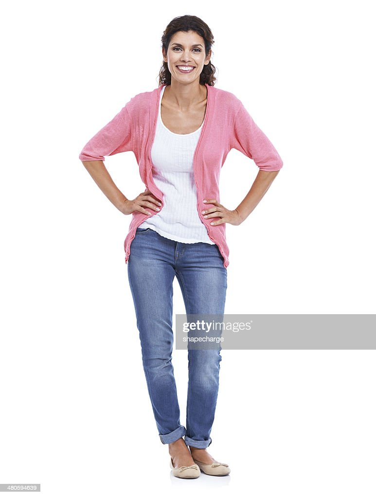 I'm feeling great today! : Stock Photo