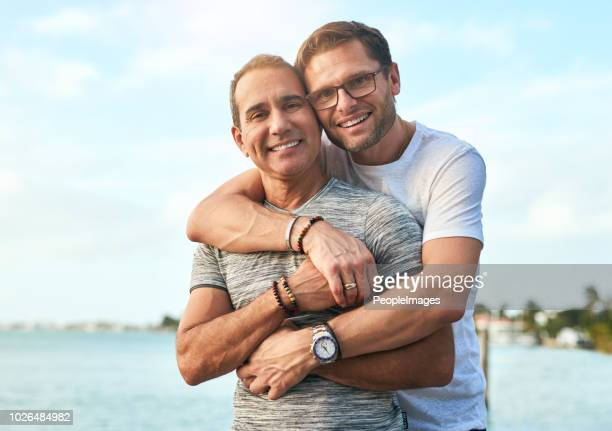 i'm glad that i have you to spend everyday - gay man stock pictures, royalty-free photos & images