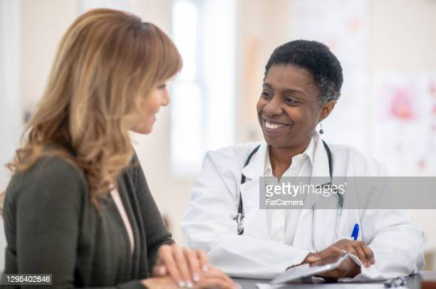 i'm glad you're feeling better - pap smear stock pictures, royalty-free photos & images