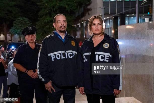 UNIT I'm Going to Make You a Star Episode 21001 Pictured Ice T as Sergeant Odafin Fin Tutuola Mariska Hargitay as Lieutenant Olivia Benson