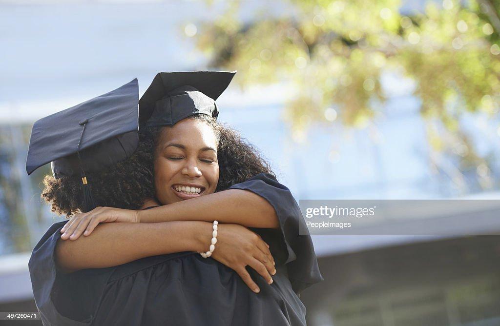 Ich werde miss college und Sie! : Stock-Foto