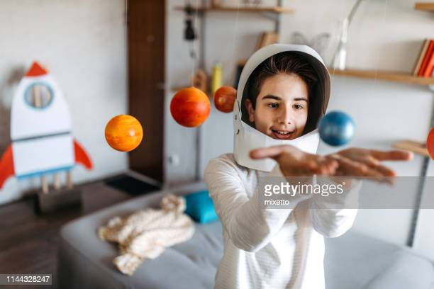 i'm gonna be astronaut - uranus stock pictures, royalty-free photos & images