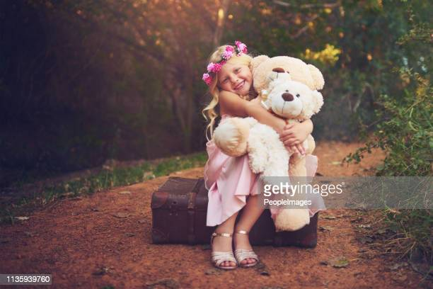 i'm happy as long as they are around - princess stock pictures, royalty-free photos & images