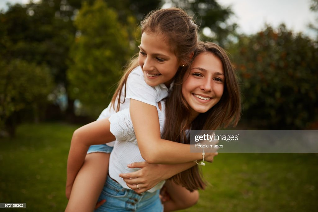 I'm her biggest supporter : Stock Photo