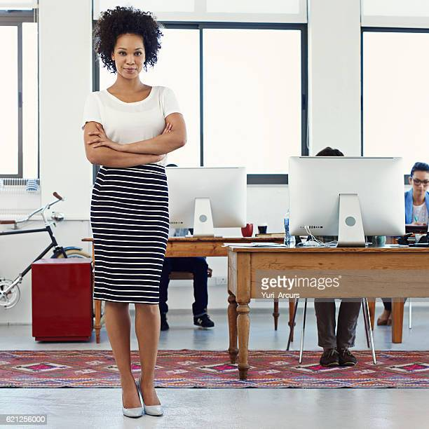 i'm here to get the job done - black skirt stock pictures, royalty-free photos & images