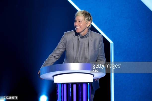"M King of the Twirl"" Episode 407 -- Pictured: Ellen DeGeneres --"