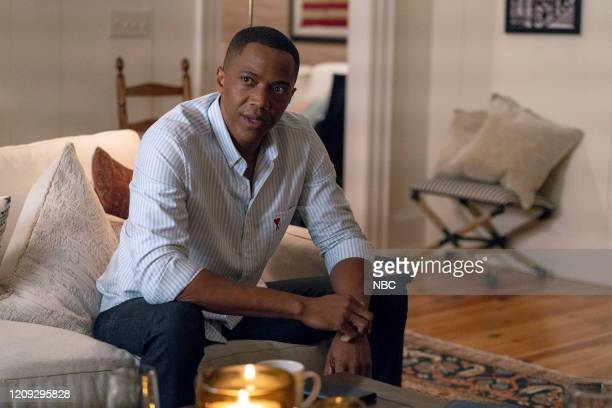 "M Not Fine"" Episode 102 -- Pictured: J. August Richards as Dr. Oliver Post --"