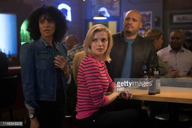 FIRE I'm Not Leaving You Episode 722 Pictured Annie Ilonzeh as Emily Foster Kara Killmer as Sylvie Brett Joe Minoso as Joe Cruz