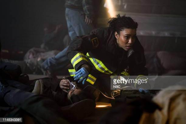 FIRE I'm Not Leaving You Episode 722 Pictured Annie Ilonzeh as Emily Foster