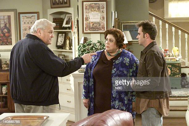 FITZGERALDS I'm Okay You're Crazy Episode 5 Aired 4/3/01 Pictured Brian Dennehy as Fitz Fitzgerald Liz torres as Ramona Ramirez Christopher Moynihan...