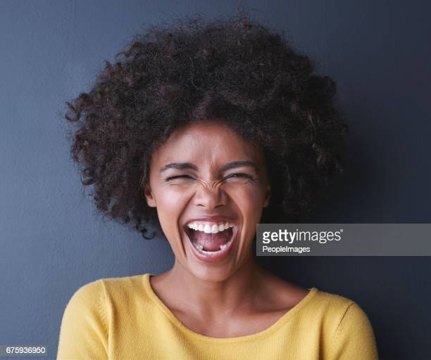 i'm on the pursuit of happiness - black people laughing stock photos and pictures