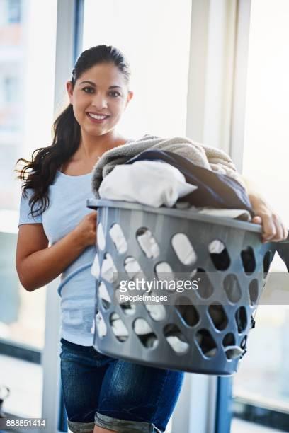 I'm ready to do this laundry