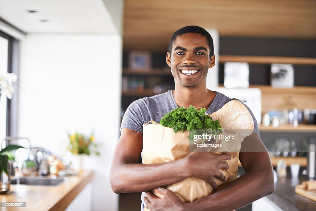 I'm ready to impress my lady tonight : Stock Photo