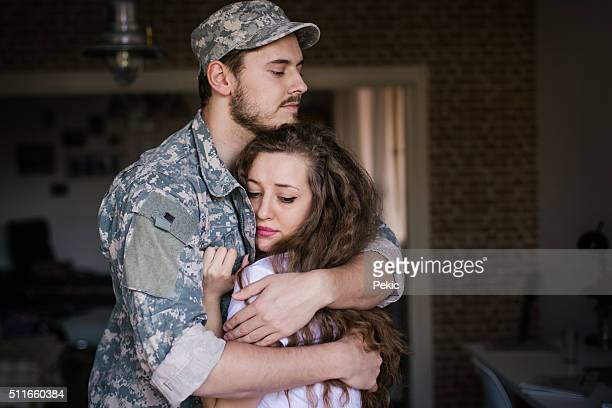 i'm so scared! - military spouse stock pictures, royalty-free photos & images