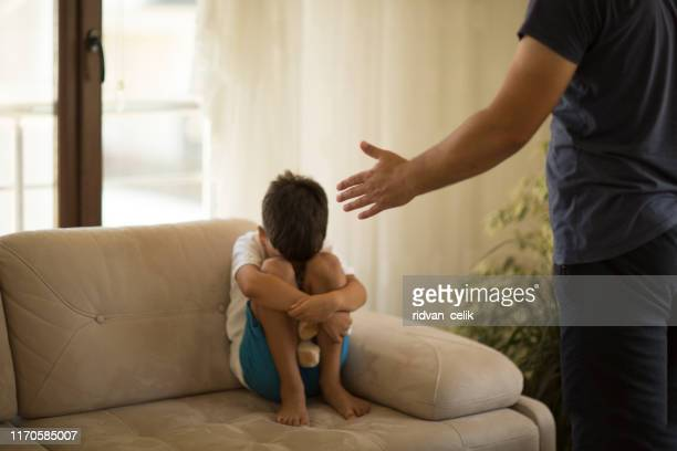 """i'm sorry dad!"" - childhood stock pictures, royalty-free photos & images"