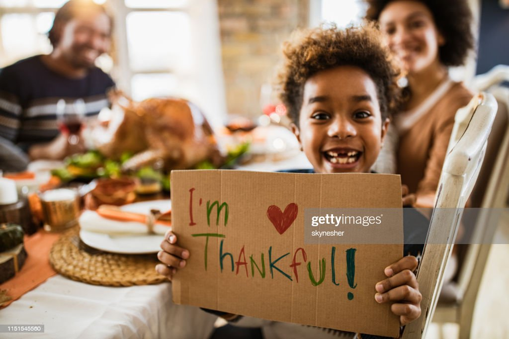 I'm thankful for this Thanksgiving day! : Stock Photo