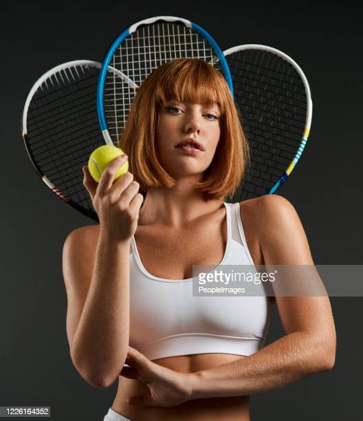 i'm the lady of the court - tennis player stock pictures, royalty-free photos & images