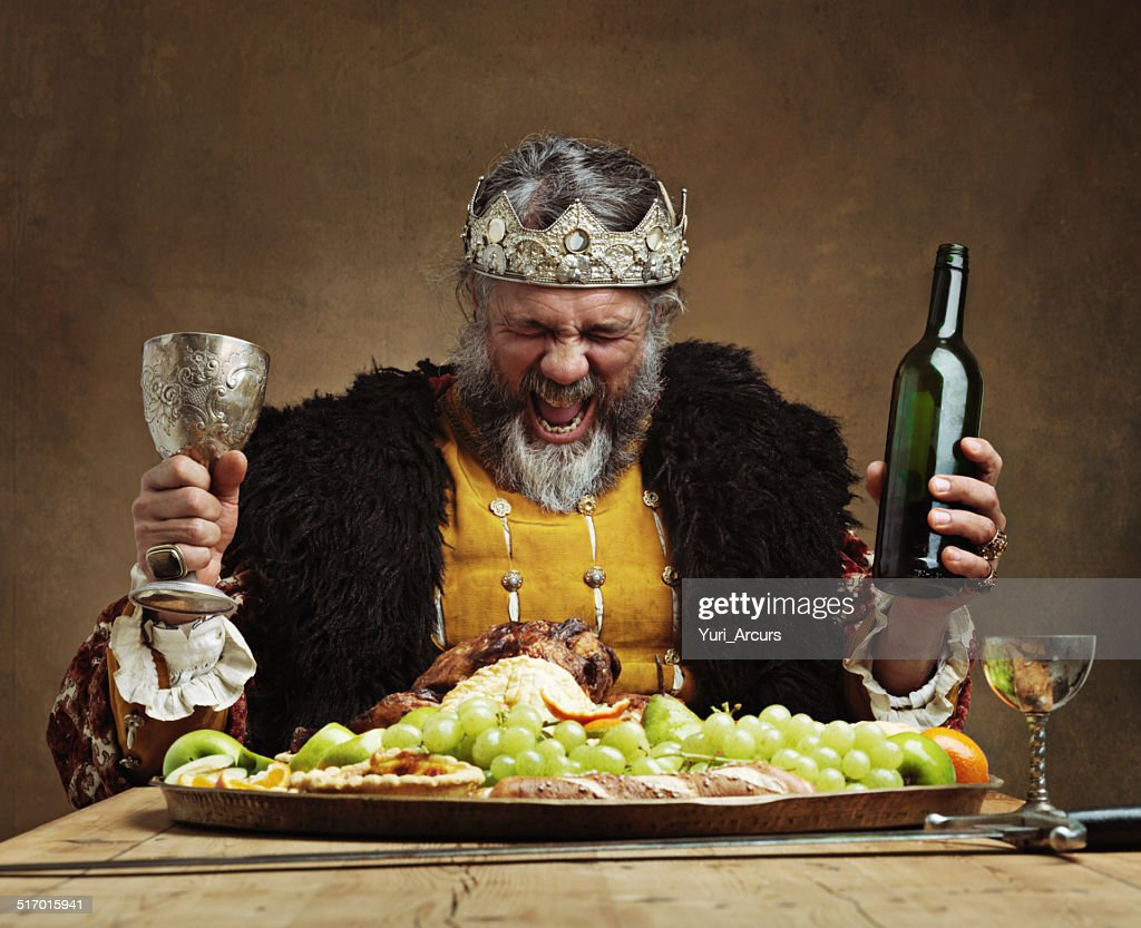 I'm the life of the party! : Stock Photo