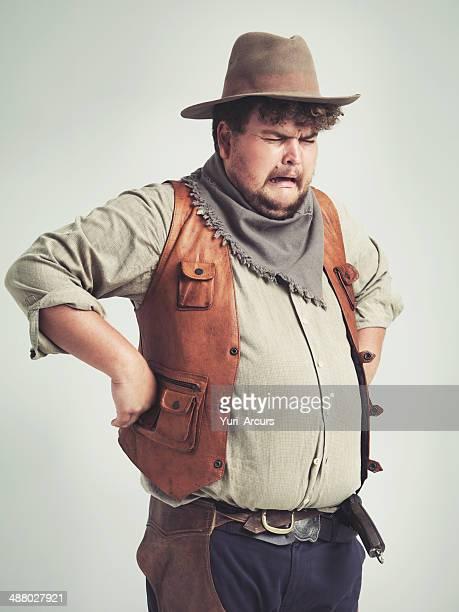 """Ich bin """"zu viel cowboy"""" für den gang zu handhaben"""