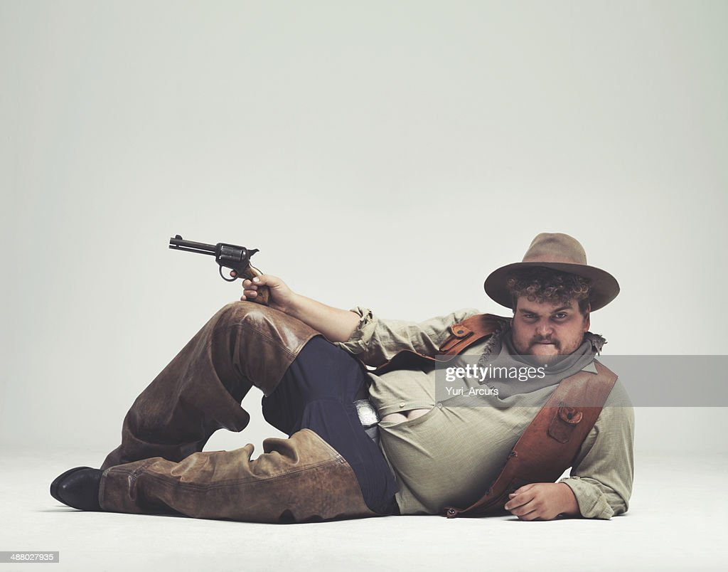 I'm too sexy for the outlaw life : Stock Photo