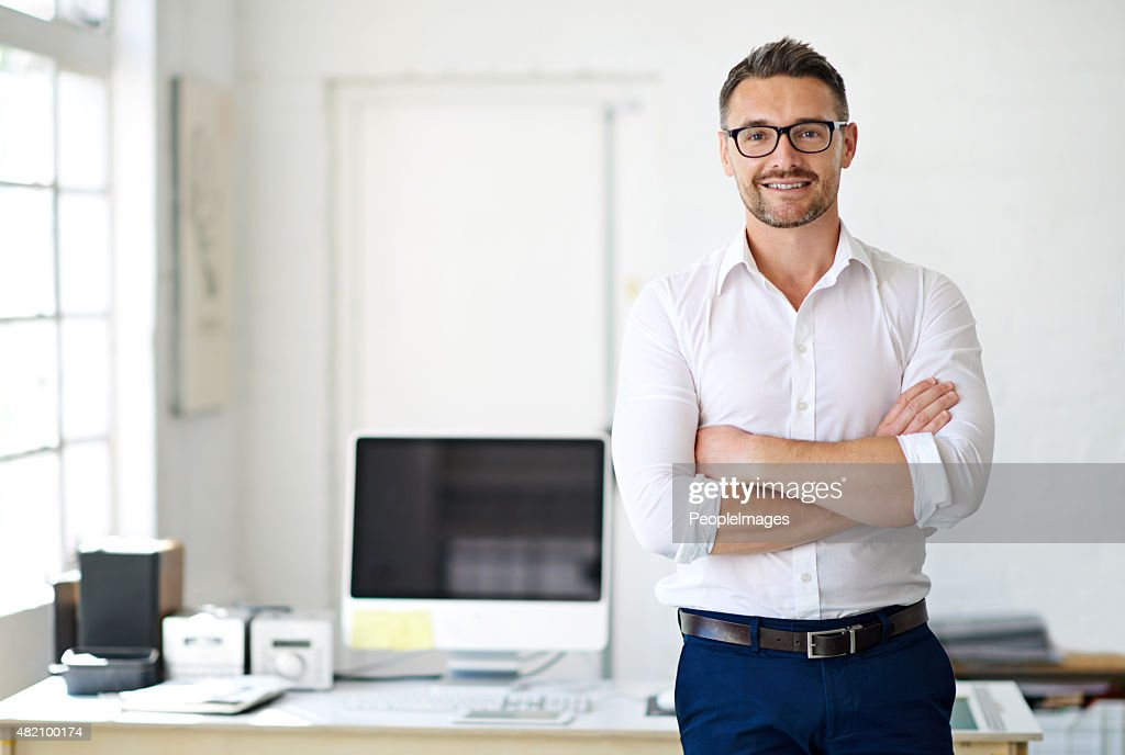 I'm up for any challenge! : Stock Photo