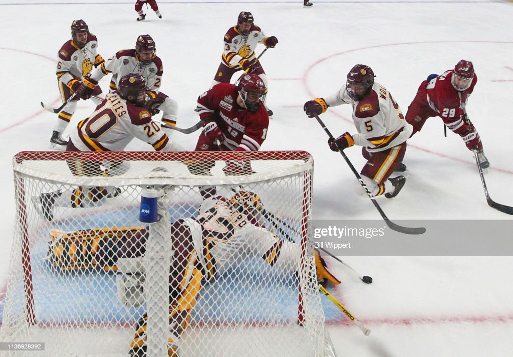 2019 NCAA Division I Men's Ice Hockey Championships : Nyhetsfoto