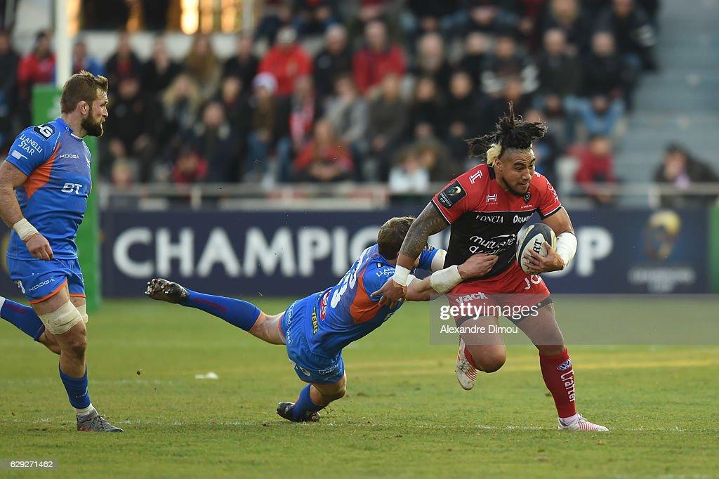 Toulon v Scarlets - European Champions Cup : Nachrichtenfoto