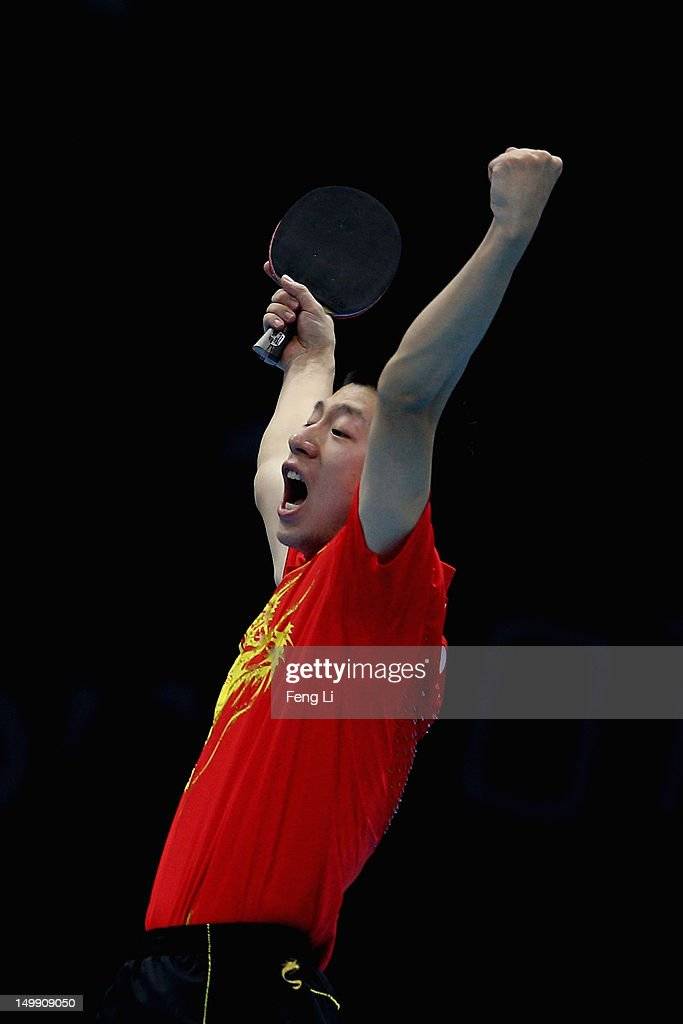 Olympics Day 10 - Table Tennis : Nachrichtenfoto