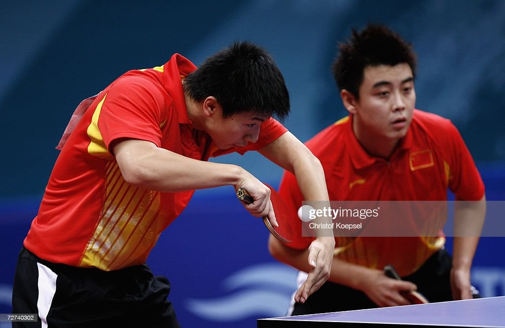 15th Asian Games Doha 2006 Table Tennis : News Photo
