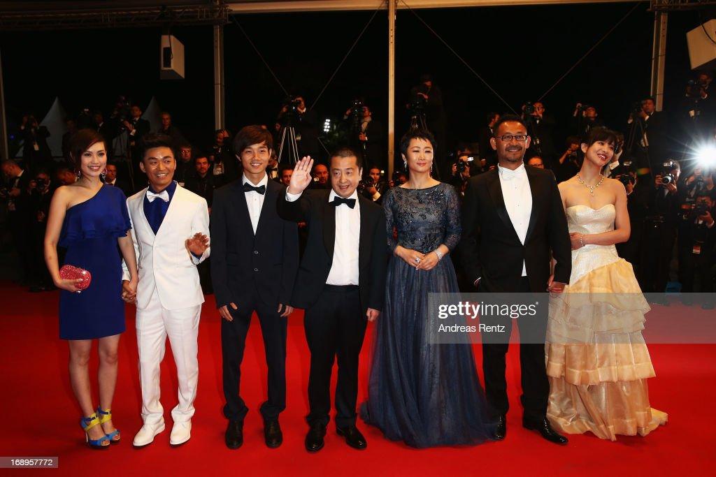 'Tian Zhu Ding' Premiere - The 66th Annual Cannes Film Festival : Photo d'actualité