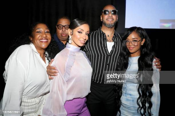 Mýa, Swizz Beatz, and H.E.R. Attend the 5th Annual Innovators & Leaders Awards Brunch hosted by Culture Creators at The Beverly Hilton on June 26,...