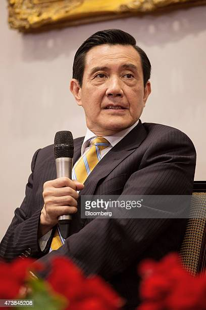 Ma Ying-jeou, Taiwan's president, listens during a news conference at the presidential palace in Taipei, Taiwan, on Monday, May 18, 2015. New rules...