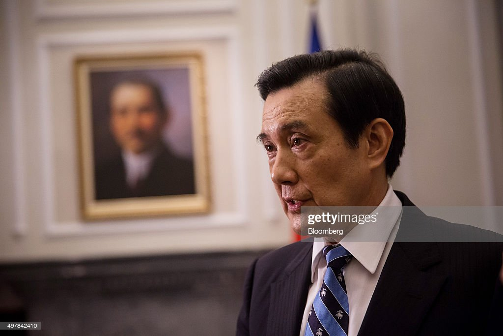 Taiwan's President Ma Ying-Jeou Interview : News Photo