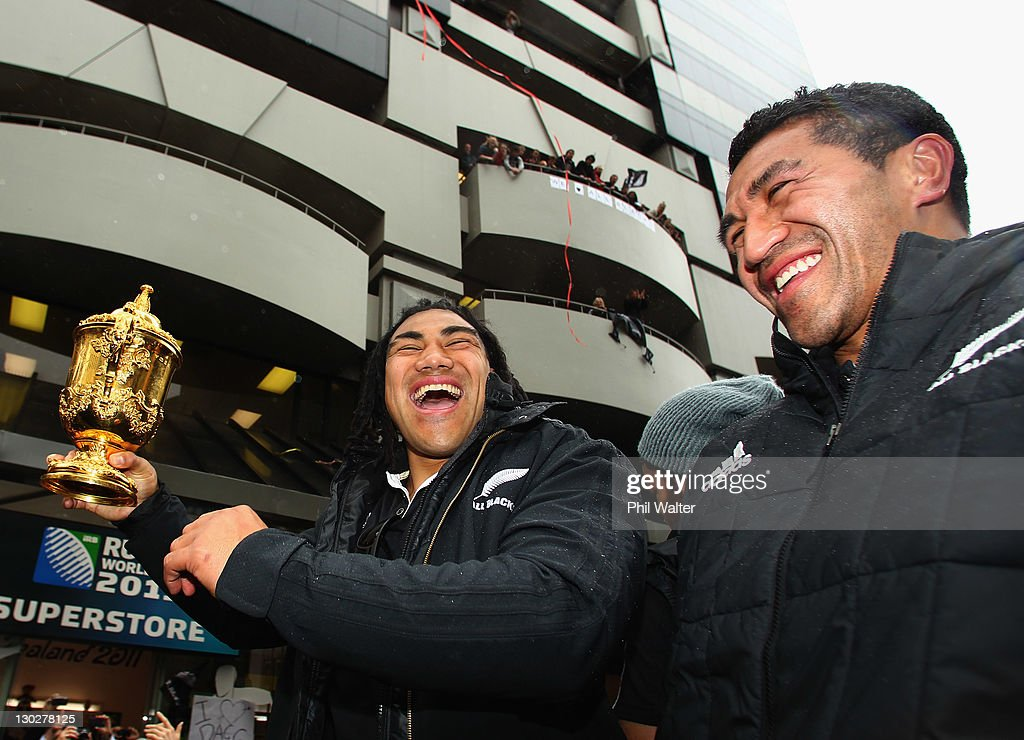 New Zealand IRB RWC 2011 Celebration Parade