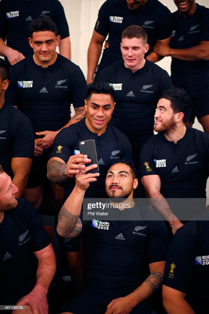 All Blacks RWC Team photo