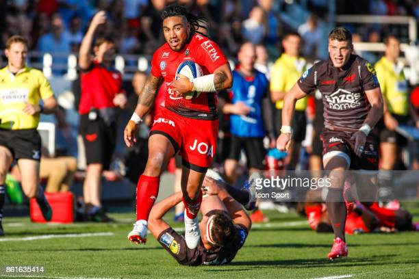 Ma'a Nonu of Toulon during the European Champions Cup match between Toulon and Scarlets on October 15 2017 in Toulon France